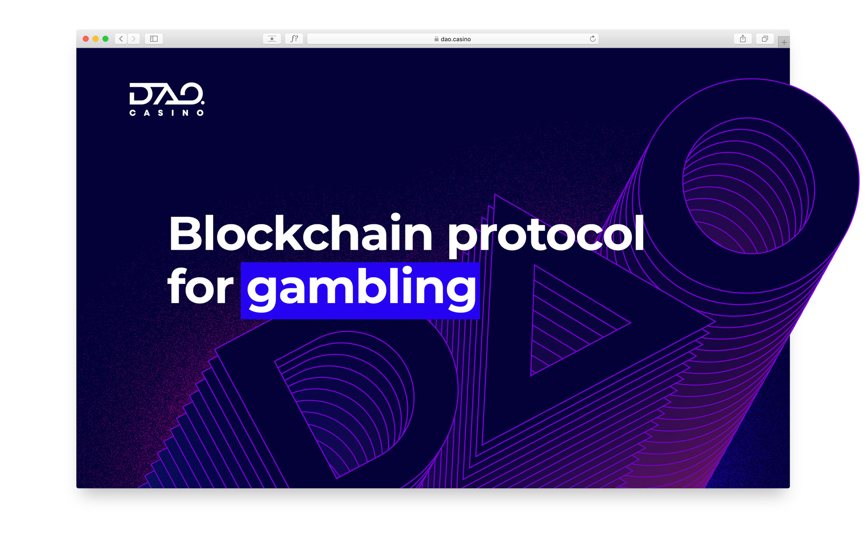 DAO-Casino_WebSite_home